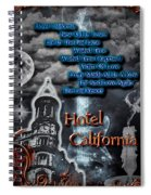 Hotel California Spiral Notebook