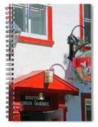 Hotel Cavalier Du Moulin  6373 Spiral Notebook