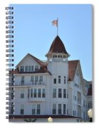 Hotel Coronado Spiral Notebook
