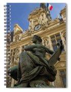 Hotel De Ville Spiral Notebook