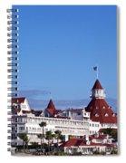 Hotel Del Coronado Spiral Notebook