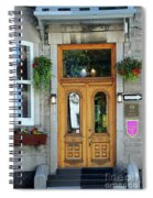 Hotel Ermitage Quebec City  6526 Spiral Notebook