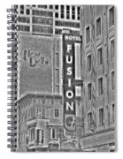 Hotel Fusion Spiral Notebook