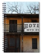 Hotel Mud Bug Paramount Ranch Spiral Notebook