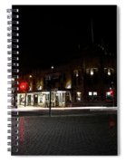 Hotel Stayne And Manly Spiral Notebook