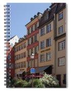 Hotel Suisse Strasbourg France Spiral Notebook