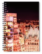 Hotel Vancouver And Sheraton Wall Center Spiral Notebook