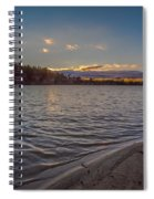Houghton's Pond Sunset Spiral Notebook