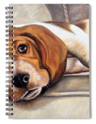 Hound Dog Spiral Notebook