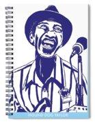 Hound Dog Taylor Spiral Notebook