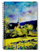 Hour Village Belgium Spiral Notebook