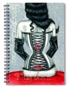 Hourglass Figure Spiral Notebook