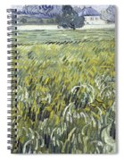 House At Auvers Spiral Notebook