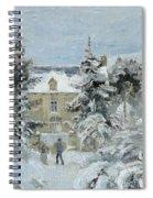House At Montfoucault Spiral Notebook