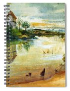 House By A Pond Spiral Notebook
