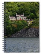 House By The Llyn Peris Spiral Notebook