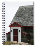 House By The Sea Spiral Notebook