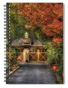 House - Classy Garage Spiral Notebook