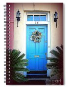 House Door 6 In Charleston Sc  Spiral Notebook