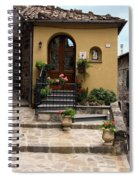House Entrance  Spiral Notebook