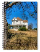 House Framed By Tree Spiral Notebook
