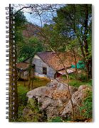 House In China Woods Spiral Notebook