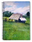 House In Ricefield  Bali Indonesia 2008  Spiral Notebook