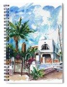 House In San Jose 02 Spiral Notebook