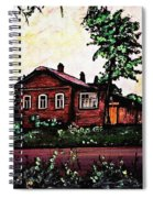 House In Sergiyev Posad   Spiral Notebook