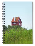 House In The Clouds Spiral Notebook