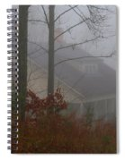 House In The Fog Spiral Notebook