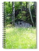 House In The Wood Spiral Notebook
