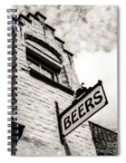 House Of Beer Spiral Notebook