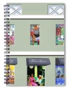 House Of Gleason Spiral Notebook