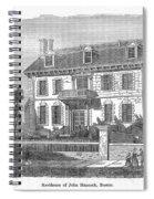 House Of John Hancock Spiral Notebook