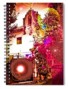 House Of Magic Spiral Notebook