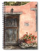 House On Delgado Street Spiral Notebook