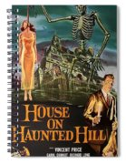 House On Haunted Hill 1958 Spiral Notebook