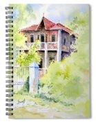 House On Jones Street Spiral Notebook