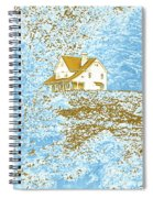 House On The Hill Spiral Notebook
