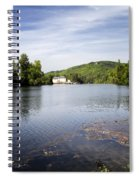 House On The River Bend - South West France Spiral Notebook