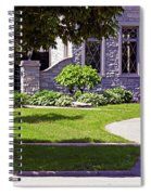 House On Wisconsin Avenue Spiral Notebook