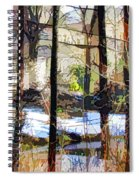 House Surrounded By Trees 2 Spiral Notebook