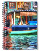 Houseboats - Lake Union - Seattle Spiral Notebook