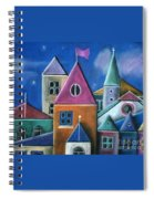 Houses Spiral Notebook