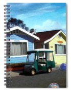 Houses In A Row Spiral Notebook