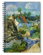 Houses In Auvers Spiral Notebook