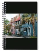 Houses In Charleston Sc Spiral Notebook