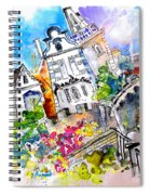 Houses In Ponte De Lima Spiral Notebook