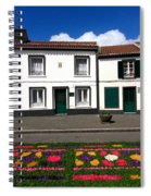 Houses In The Azores Spiral Notebook